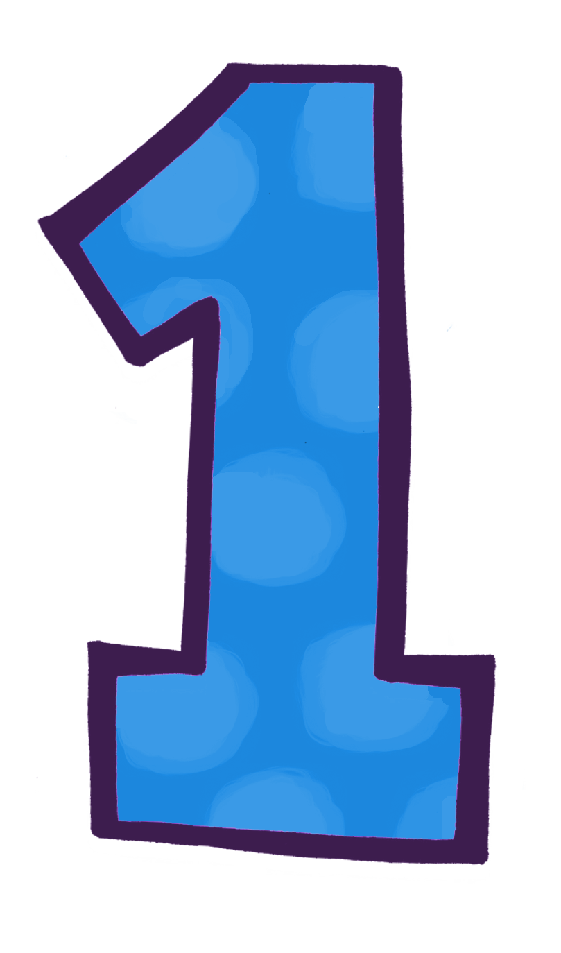 blue 1 number, countdown the big one launching kidlit radio #14157