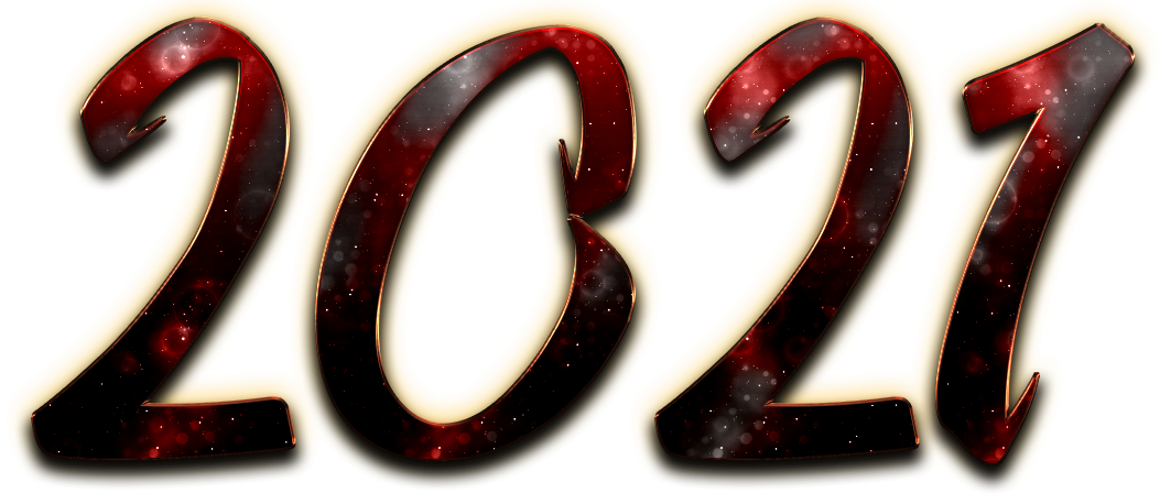 2021 font text black happy new year #41565