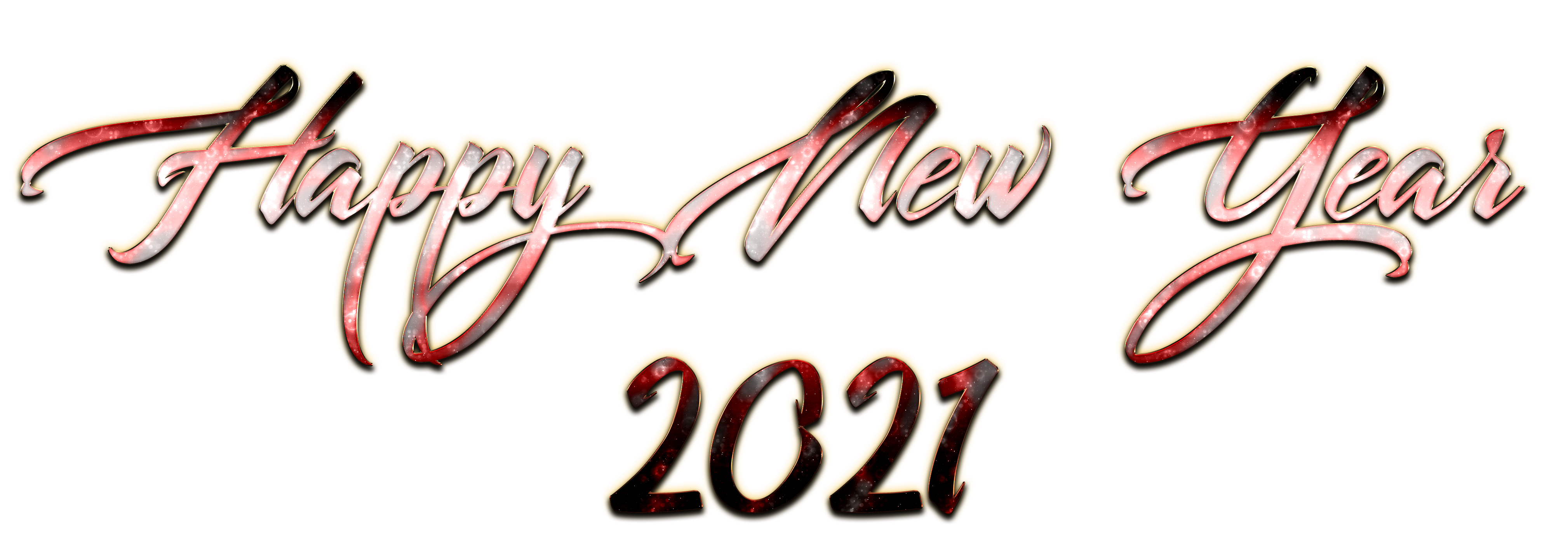 2021 happy new year decoration png #41566