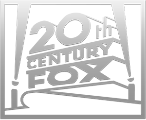 metalic 20th century fox png logo #2990