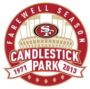 49ers candlestick park png logo 6829