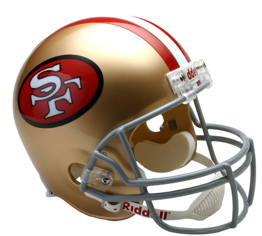 san francisco 49ers vsr4 replica throwback png logo #6827