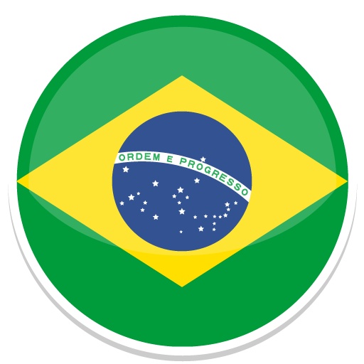 512x512 logo brazil icon round world flags iconset custom icon design #27138