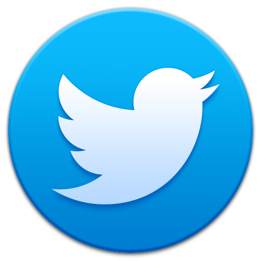 512x512 logo twitter icon smooth app iconset ampeross #27142