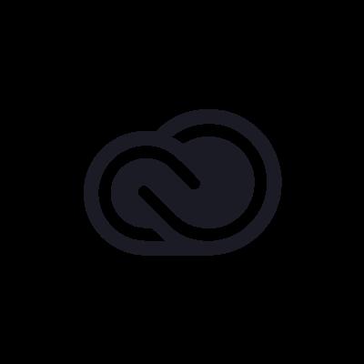 adobe creative cloud black logo #1908