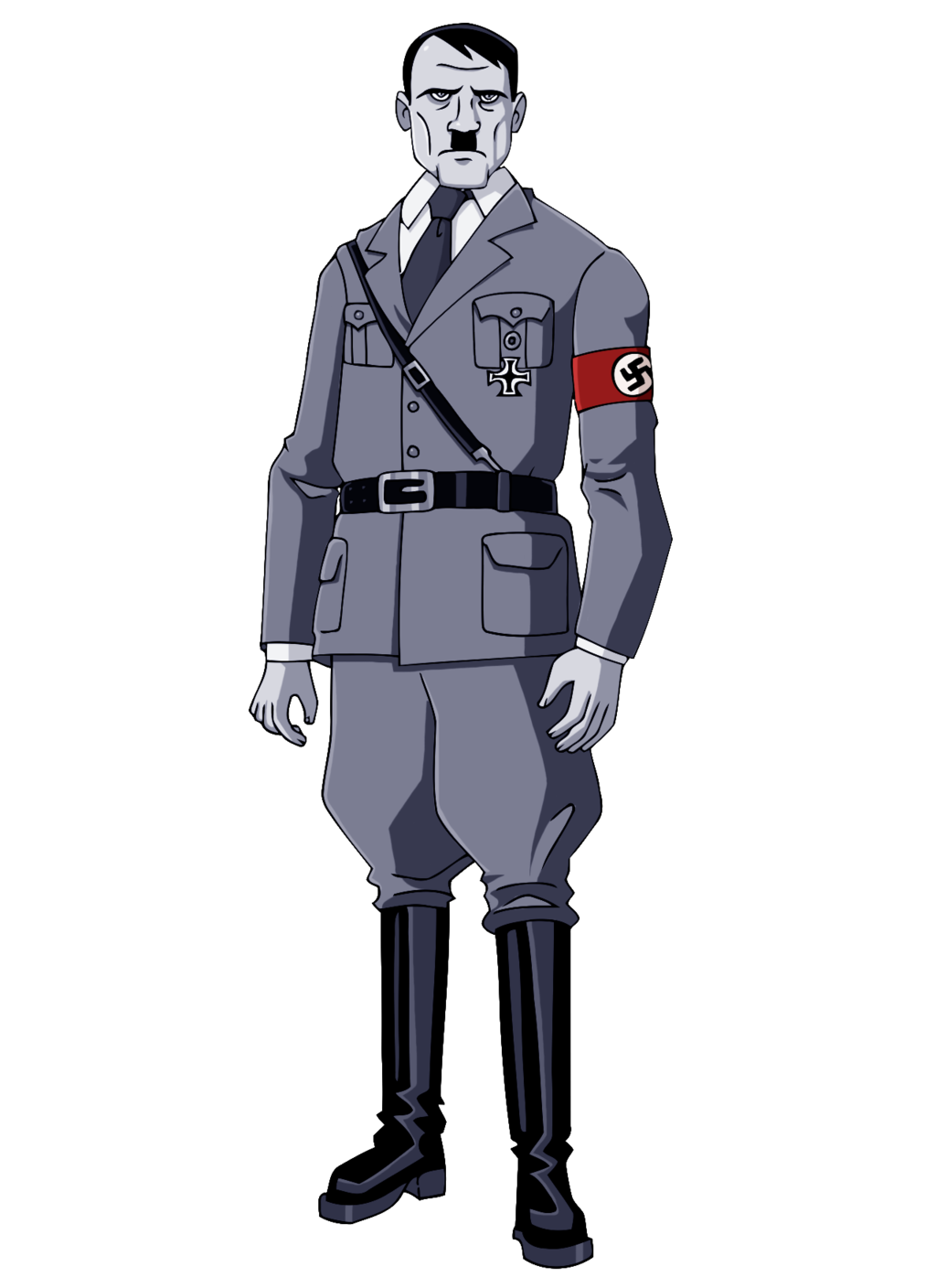 adolf hitler black and white glee chan deviantart #26636
