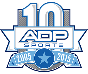 adp sports tenth anniversary png logo #6442