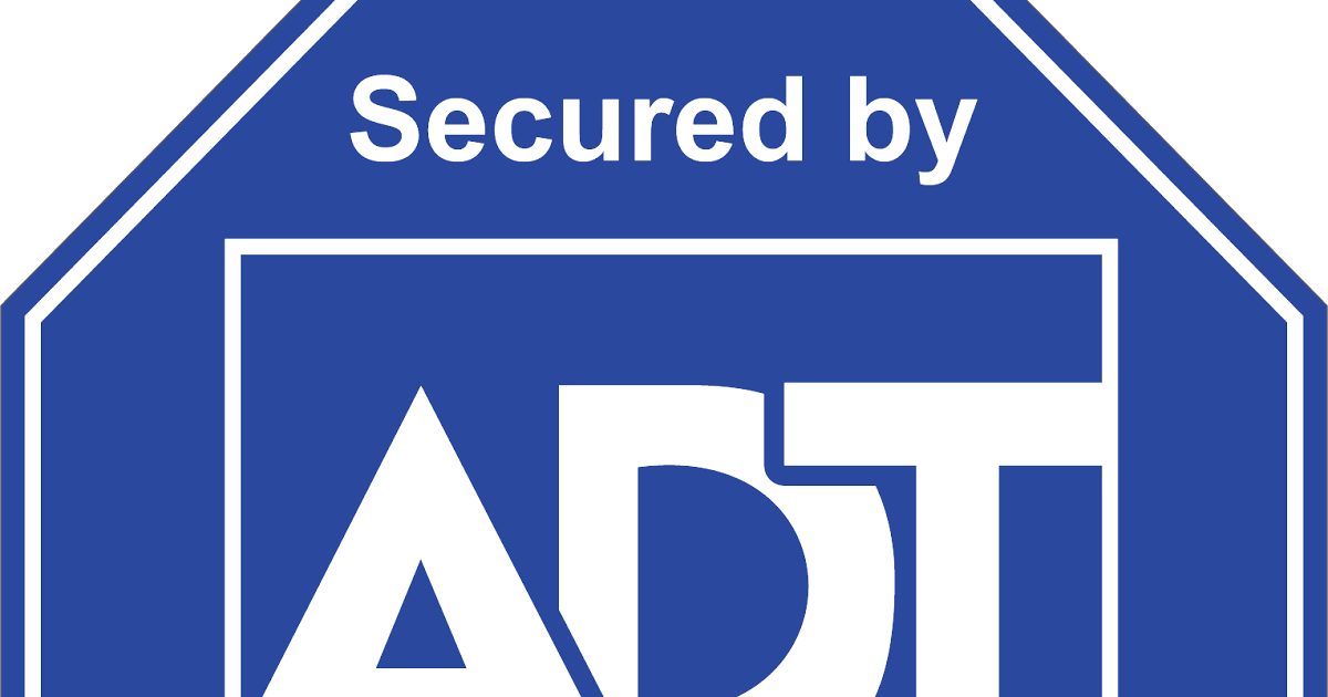 adt secured png logo #6801