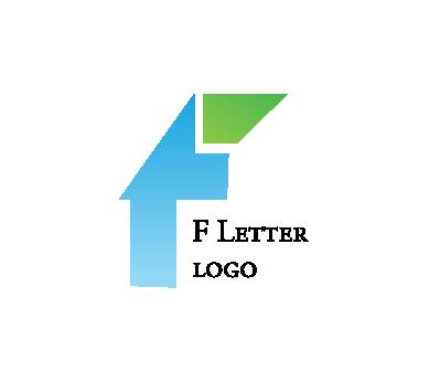alphabet f cut letter logo png #1553