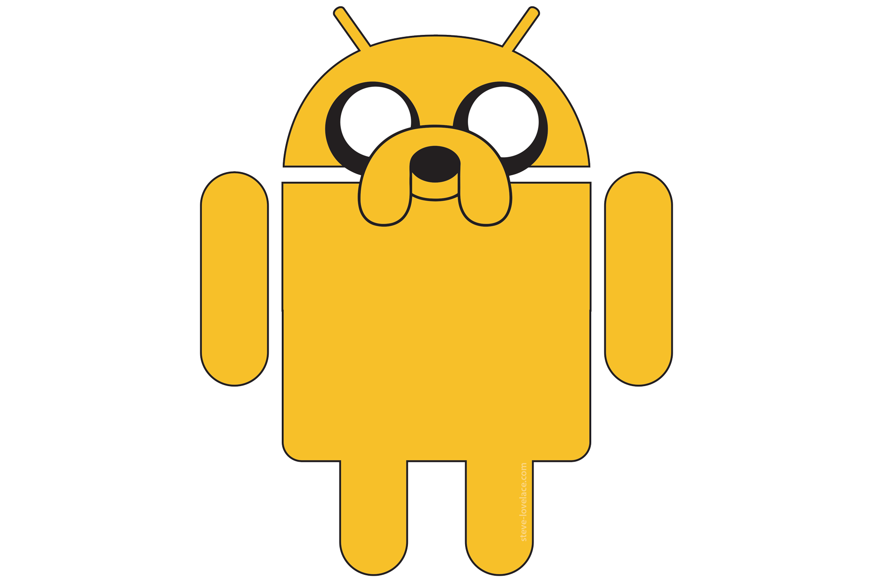 android logo, the future android steve lovelace #12418