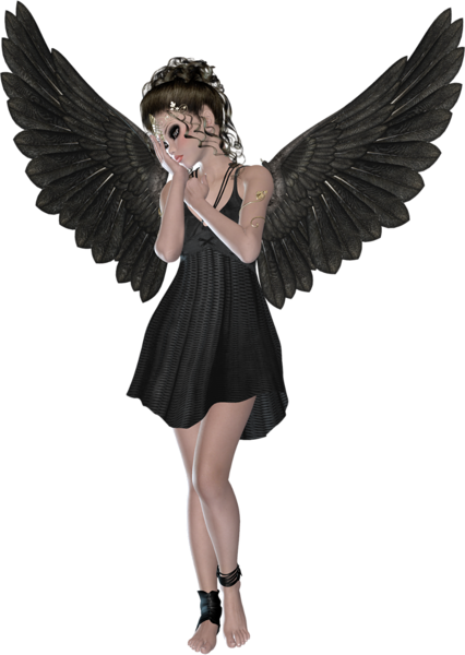 beautiful black angel gallery yopriceville high 20577