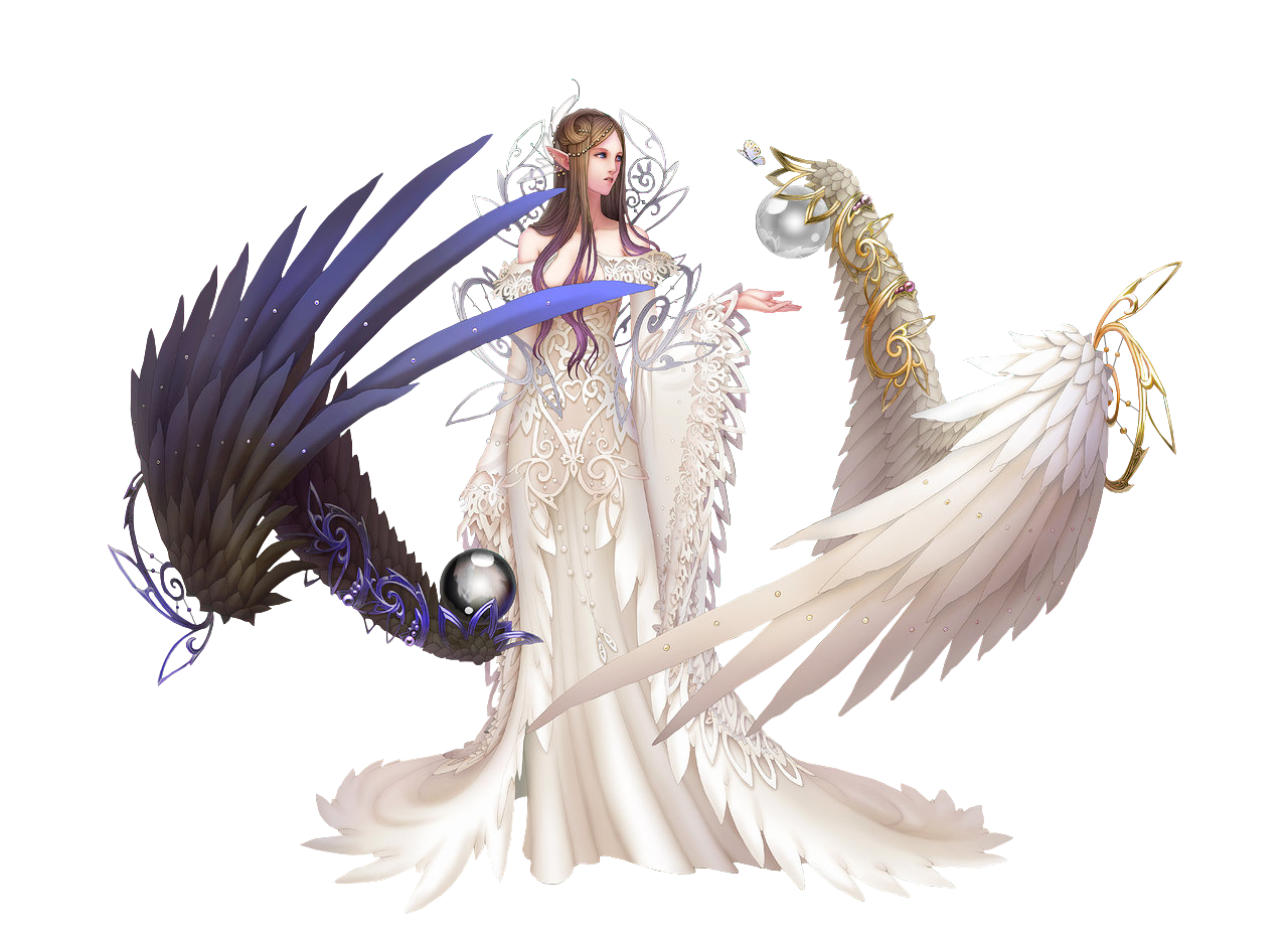 download fantasy angel png clipart for designing work 20576