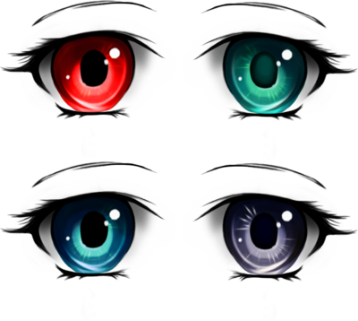 anime eyes pack tashamille deviantart