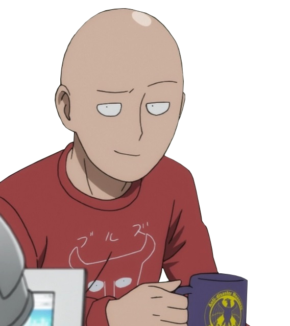 smug saitama smug anime face know your meme 7404