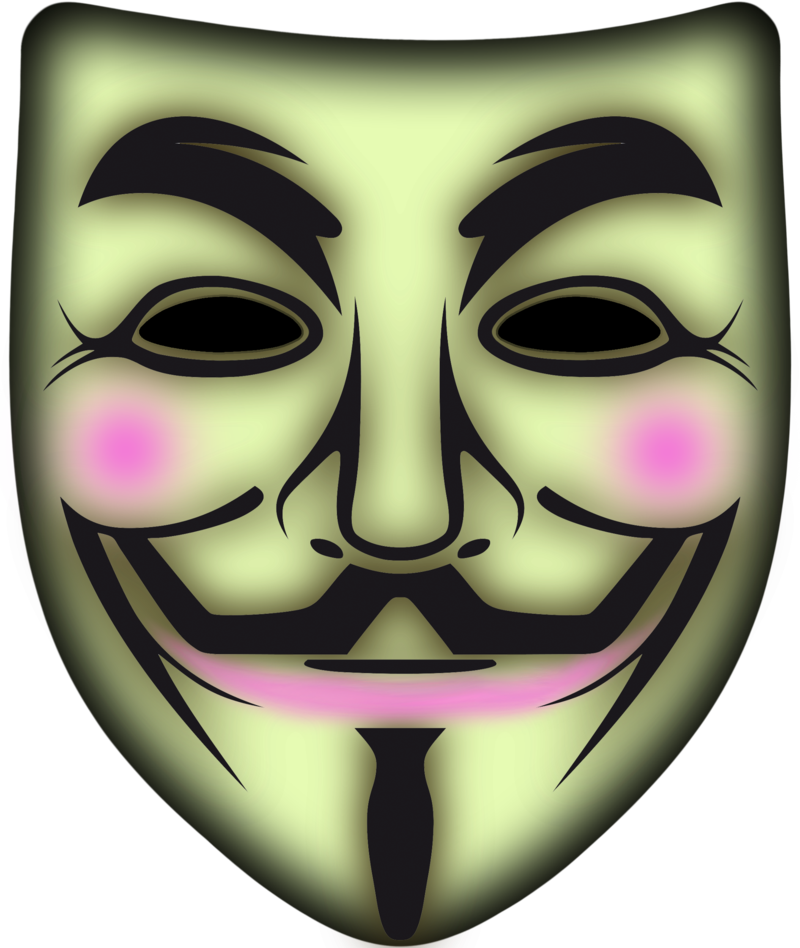 anonymous mask png images with transparent backgrounds #17434