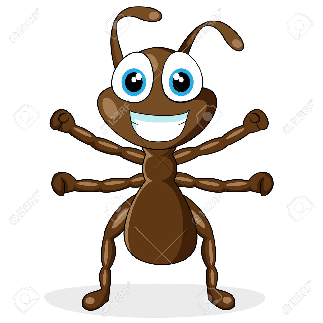 ant clipart, funny clipart ant pencil and color funny clipart ant #31579