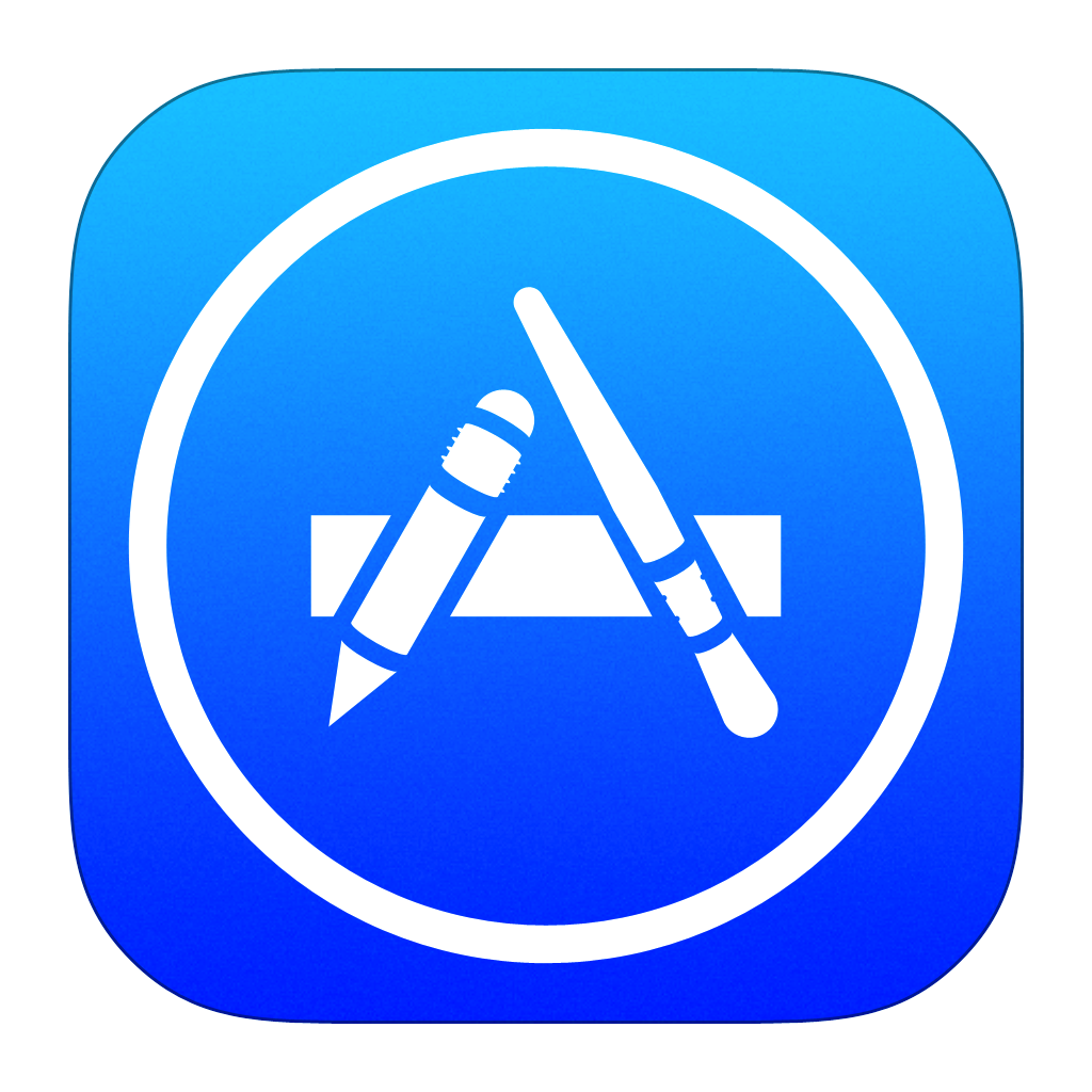 apple app store app store icon ios style iconset iynque #33117