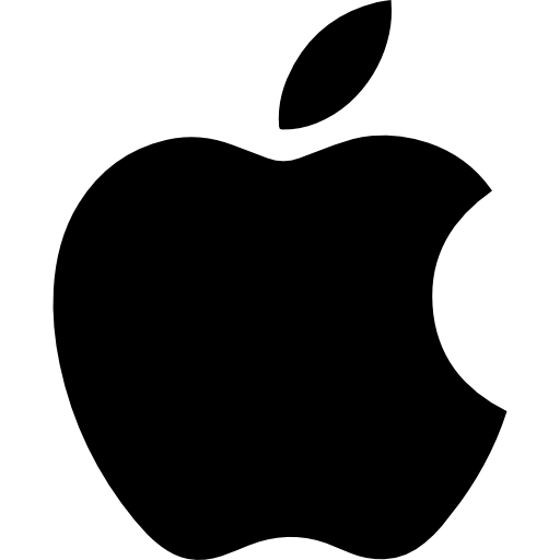 apple logo logo icons #9738