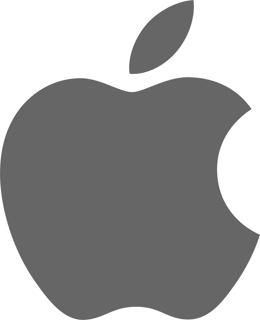 file apple logo dark grey svg wikimedia commons #9728