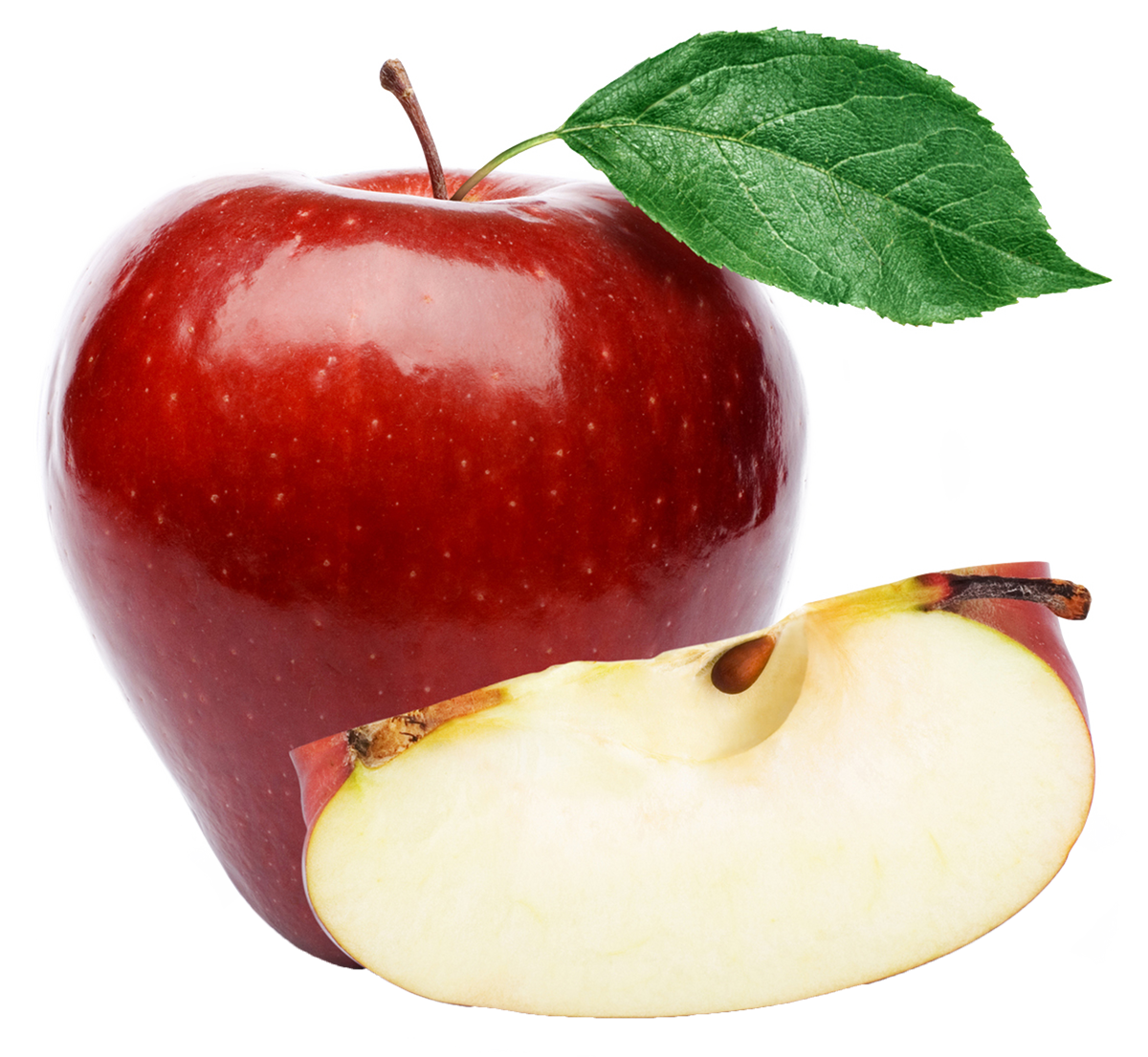 apple png with leaf 11745