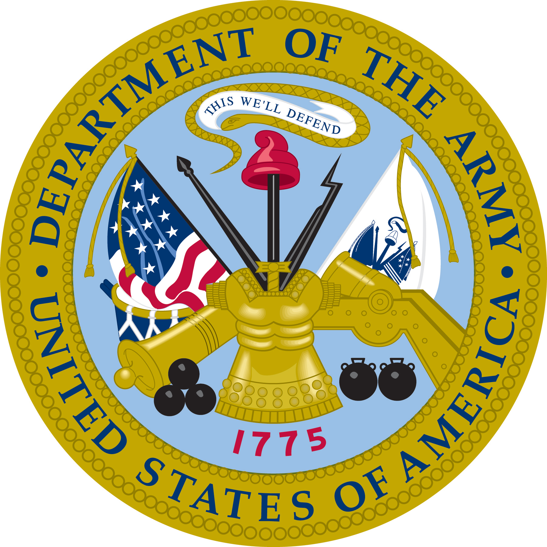 department of the army usa png logo #2847