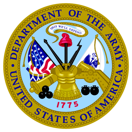department of the army vector png logos
