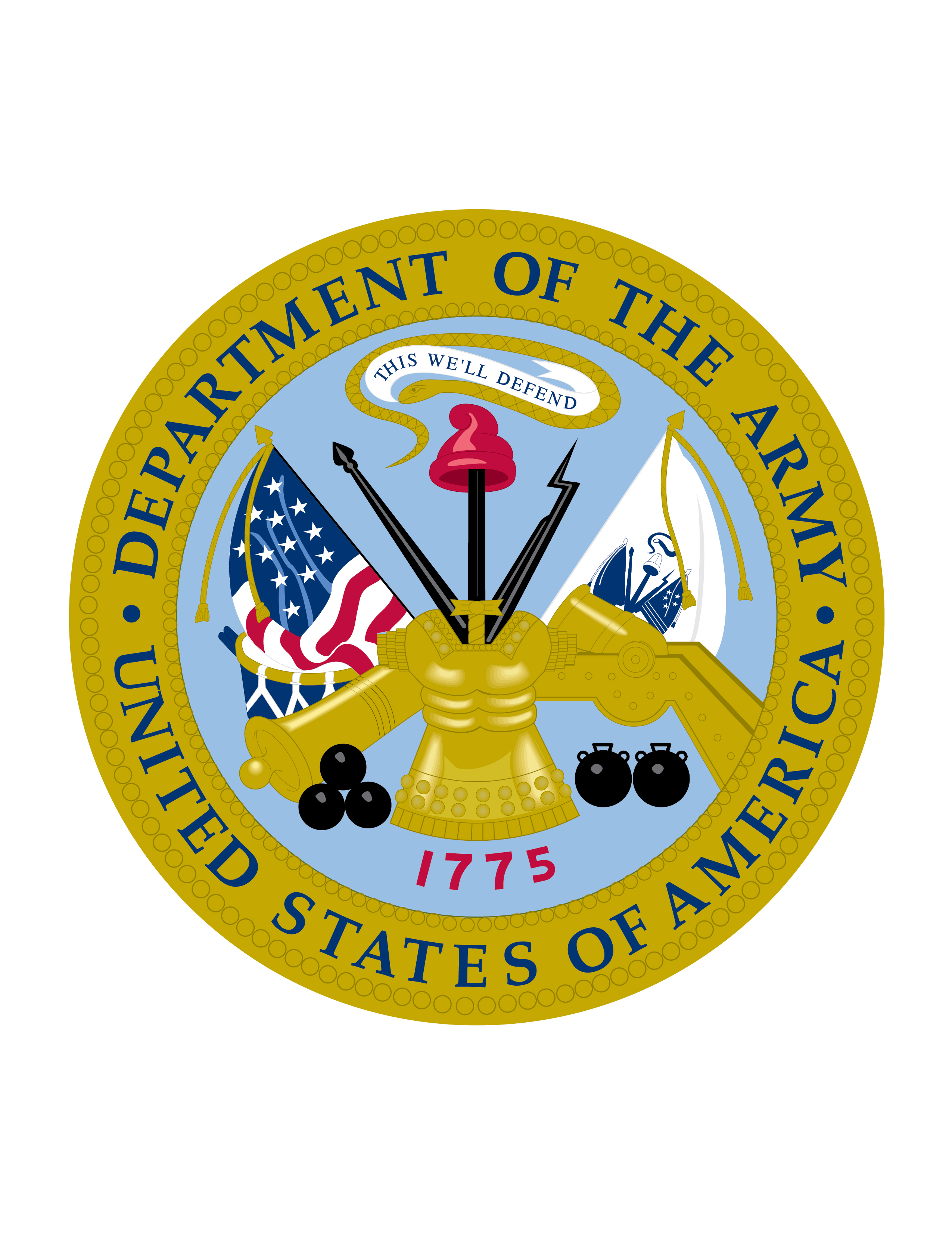 dod logos us army png logo
