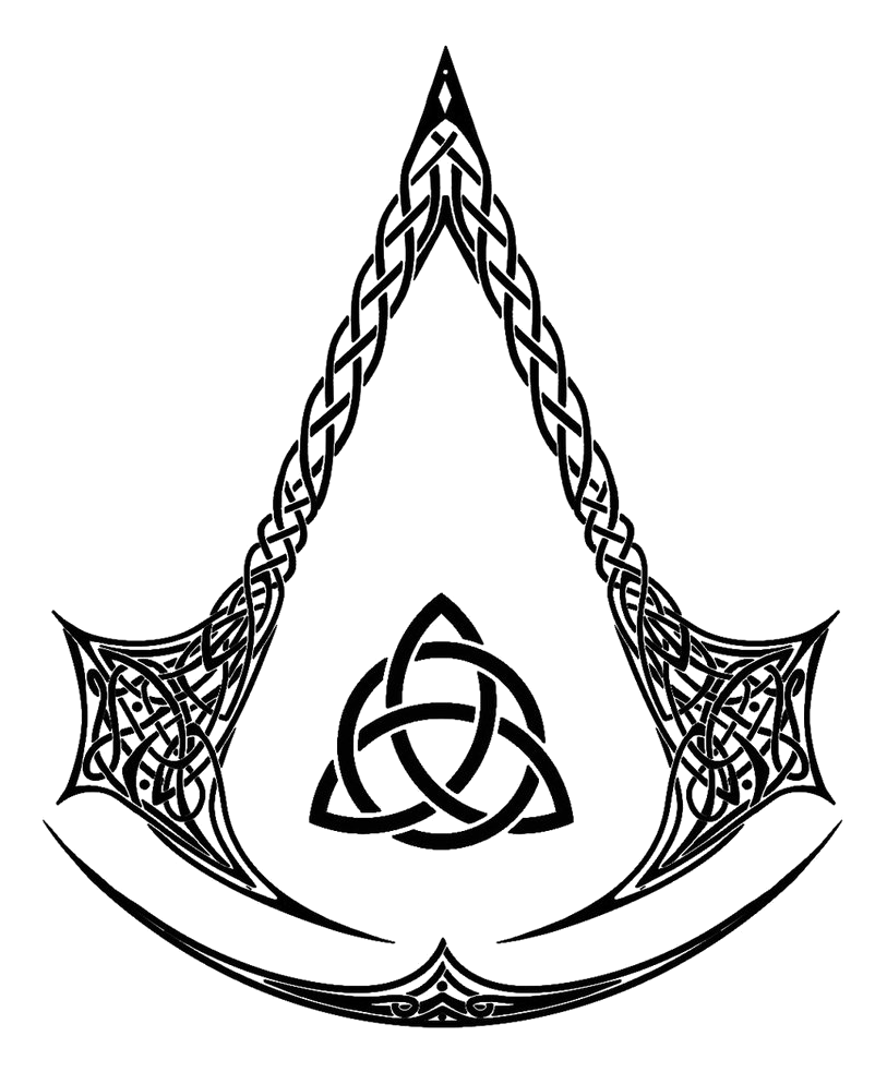 assassins creed logo, assassin creed celtic logo quidek deviantart #22700