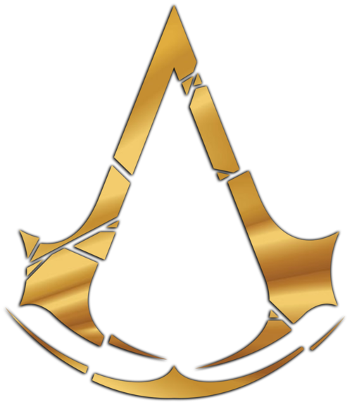 assassins creed logo, assassin creed golden logo uploaded aris #22694