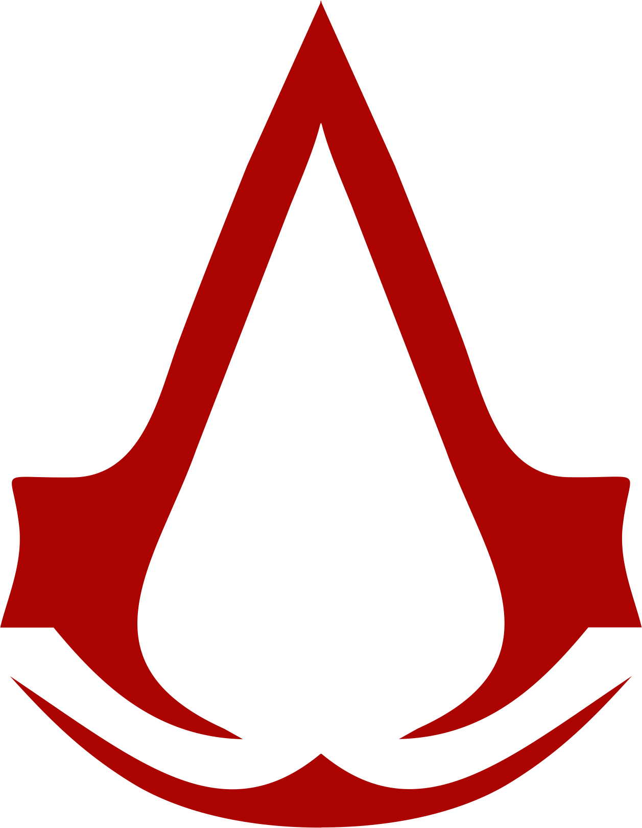 assassins creed logo transparent png stickpng #22673