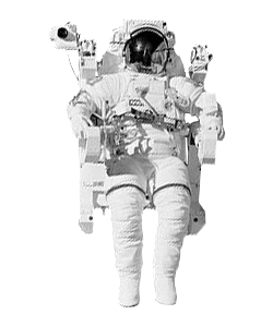 astronaut space walk transparent background 24516