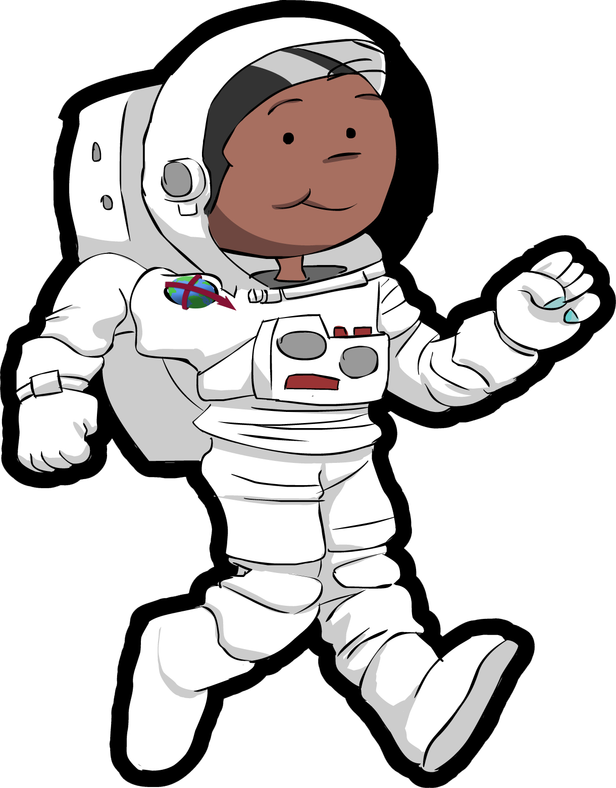 space images charlie the astronaut 24560