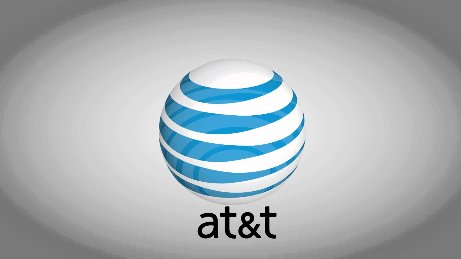 at&t png logo grey background #3355
