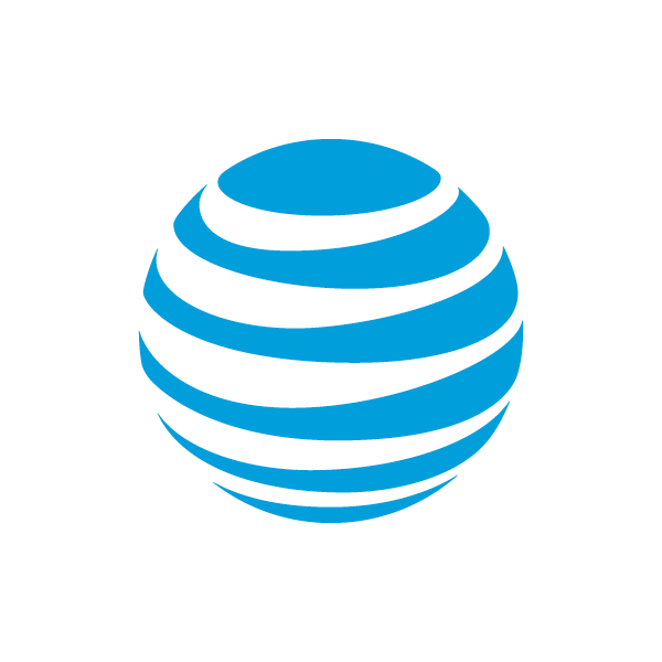 brand new at&t png logo #3348