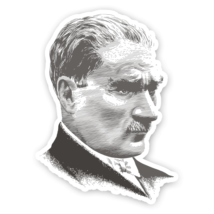 atatürk sticker #32346