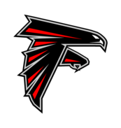 atlanta falcons png logo vectors #3836