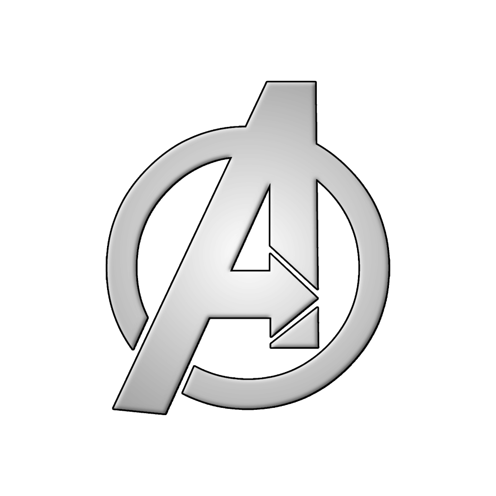 avengers logo white transparent download #41021