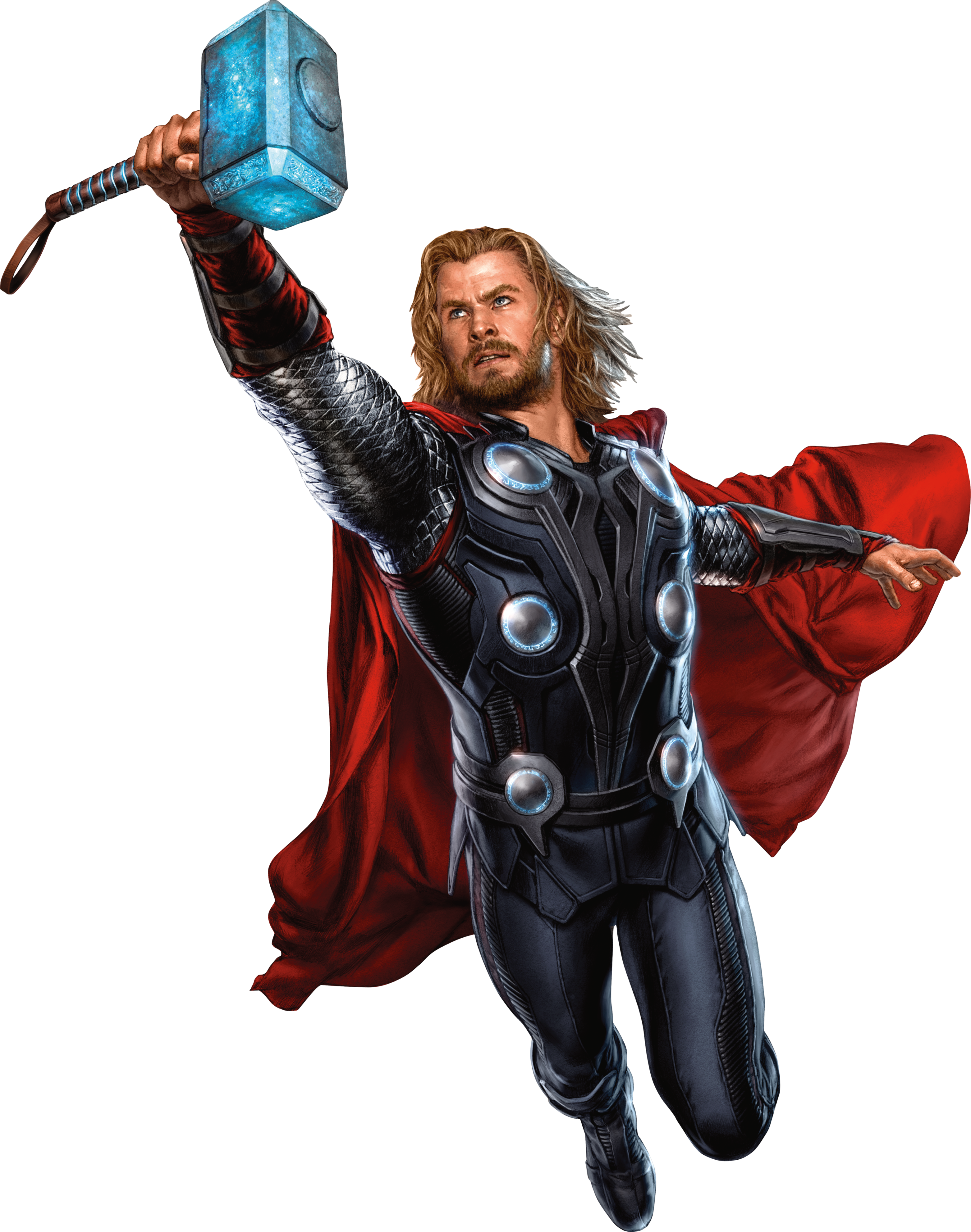 flying thor hammer png #41000