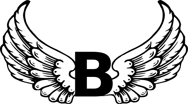 b letter logo png #119