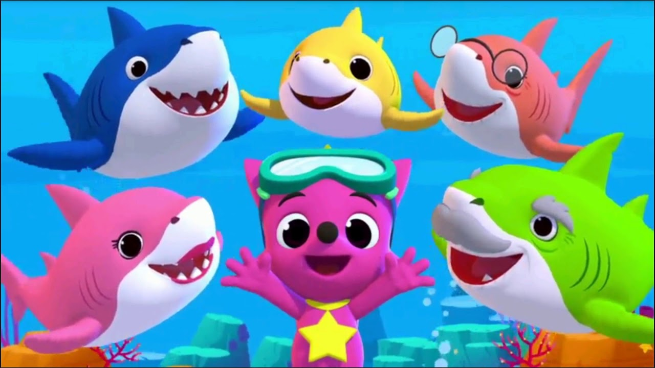 kids learning video baby shark song learn sea animals #37678