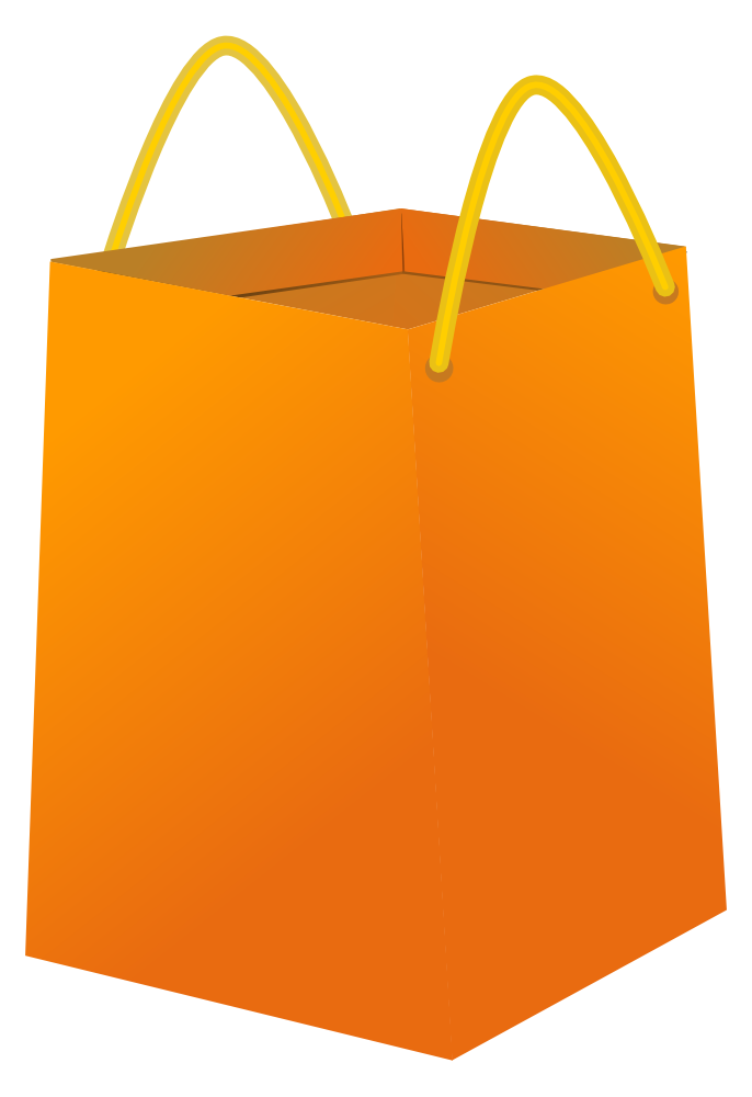 onlinelabels clip art shopping bag #20944