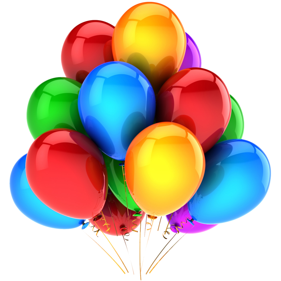 birthday balloons png download clip art #9340