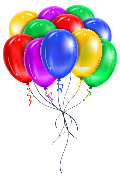 transparent balloon bouquet happy birthday balloons clip art #38985