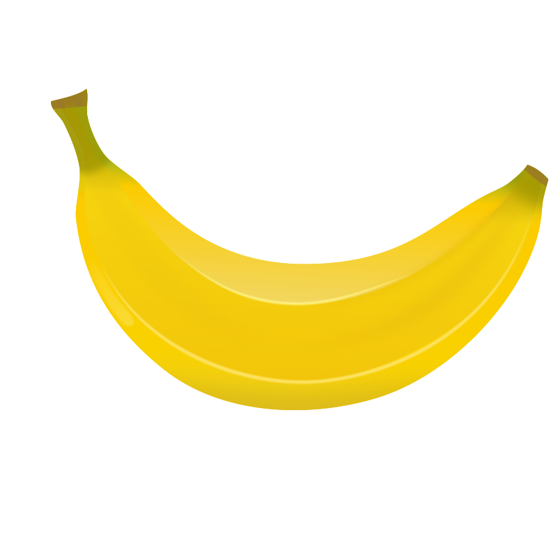 banana clipart transparent background pencil and #12979