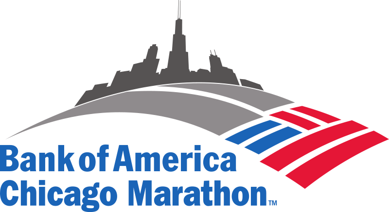 bank of america chicago marathon png logo #4548