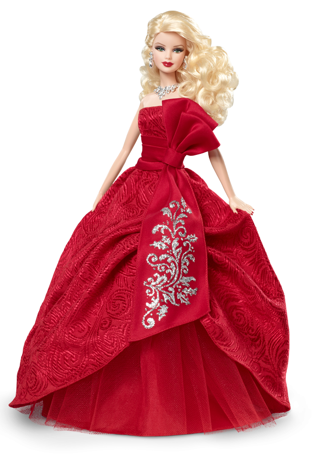 red dress barbie doll png image #14195