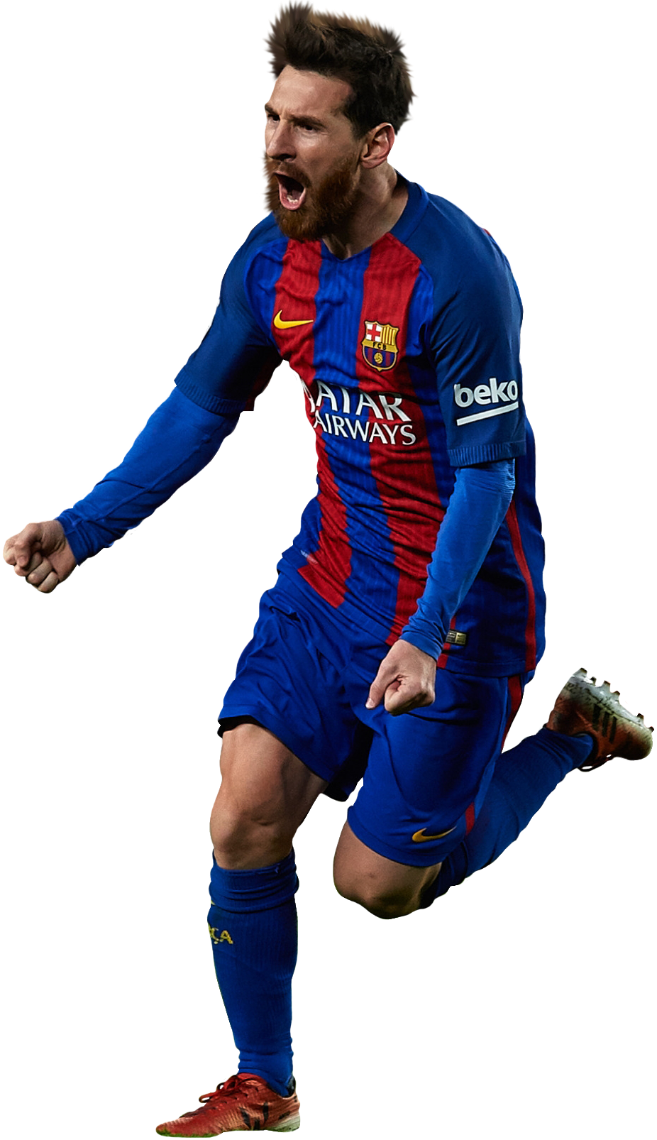 barcelona, lionel messi football render footyrenders #12177