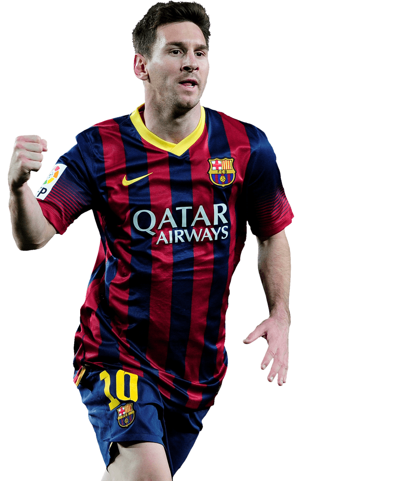 barcelona lionel messi transparent png stickpng #12241