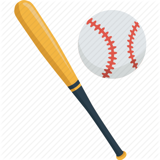 ball baseball bat game match sport icon #18880