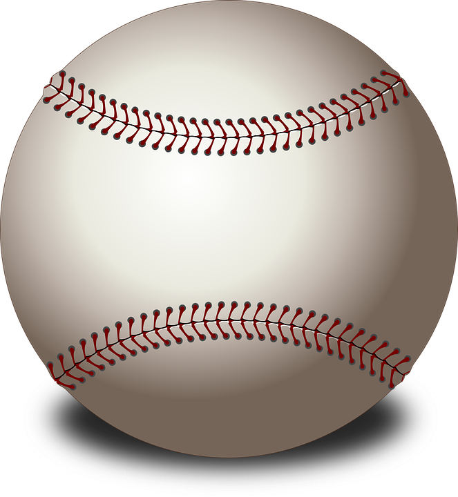 baseball ball sports vector graphic pixabay #18875